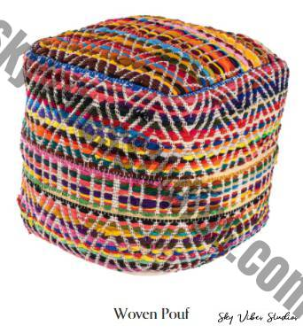 DIFFERENT WAYS TO USE A POUF IN YOUR HOME